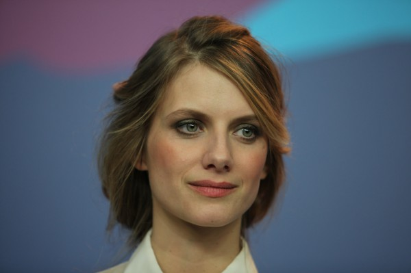 "French actress Mélanie Laurent (""Inglorious Basterds"", ""So ist Paris"") at the Berlinale on 12 February 2014."