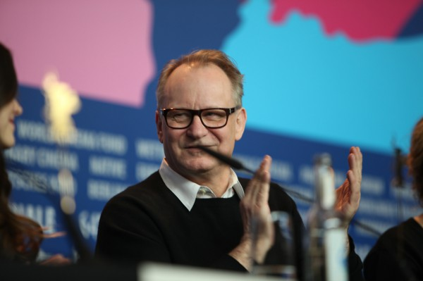 "Swedish actor Stellan Skarsgård (""Good Will Hunting"", ""Pirates of the Caribbean"") at the Berlinale on 9 February 2014. Skarsgård presented the film ""Nymphomaniac, Vol. 1"", in which he embodies the character of Seligman."