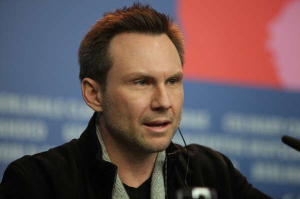 "American actor Christian Slater (""Der Name der Rose"") at the Berlinale on 9 February 2014. Slater presented the film ""Nymphomaniac, Vol. 1"", in which he embodies the character of ""Joe's Father""."